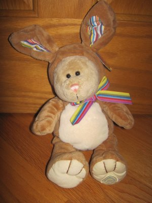 Starbucks Bearista Teddy Bear 75th Edition Bunny Rabbit Suit 2008