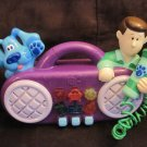 Blues Clues Musical Sing Along Stereo Boombox Karaoke Microphone