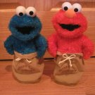 Sesame Street Potato Sack Racers Set Elmo & Cookie Monster