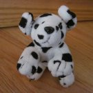 Shanghai Toy Time Enterprises Plush Black & White Spotted Puppy Dog Dalmation Dalmatian