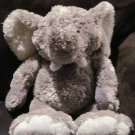 JcPenney Corporation Chosun International Plush Gray & White Elephant Toy Big Feet