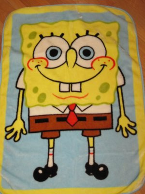Nickelodeon Sponge Bob Square Pants Luxe Plush Toddler