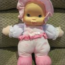 Goldberger BF Kisses Pink and White Heart Plush Kissing Sound Doll Says I Love You
