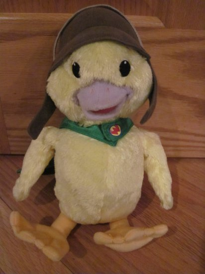 Fisher Price 13 Inch Plush Wonder Pets Ming Ming Duck Toy