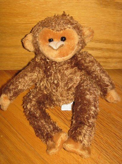 Animal Adventure Small Plush Brown Monkey No Tail