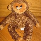 Animal Adventure Small Plush Brown Monkey No Tail