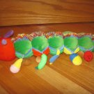 Eric Carle Very Hungry Caterpillar Plush Activity Toy With Hanging Foods That Go Into Pockets