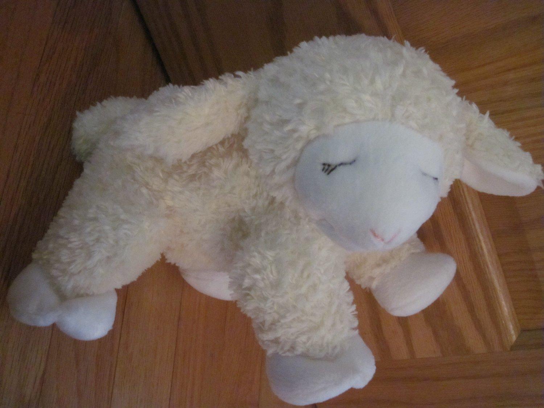 Gund Cream & White Lamb Sheep God Bless Baby Target Easter Plush