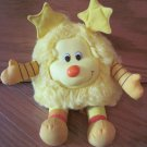 Hallmark Plush Yellow Rainbow Brite Sprite Doll Named Spark
