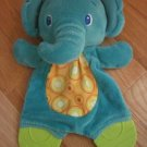 Bright Starts Plush Elephant Teether Circle Dot Tummy Crinkle