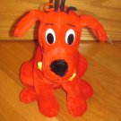 Clifford the Big Red Dog Plush Sitting Puppy Poseable Ears Hair