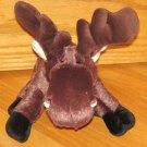 Ganz Webkinz Brown Plush Moose Deer No Code