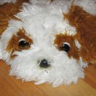 Aurora Brown & White Fat Floppy Shaggy Laying Puppy Dog Murphy