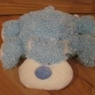 Baby Ganz Plush Blue Curly Teddy Flopimals Bear BG934