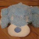 Baby Ganz Plush Blue Curly Teddy Flopimals Bear BG934