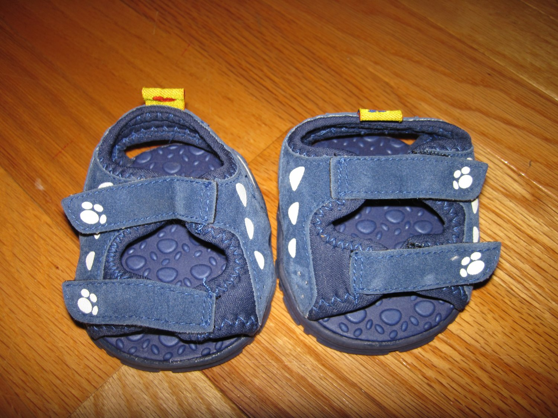 Build A Bear Navy Blue Sandals Teddy Bear Animal Summer