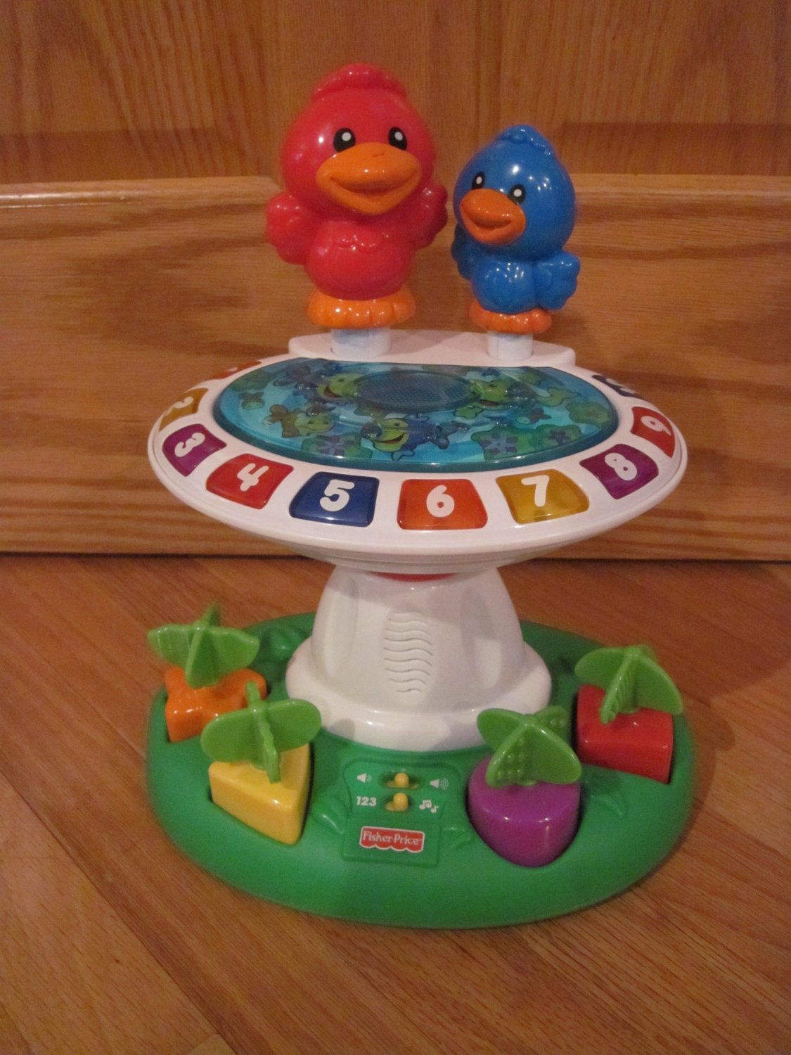 Fisher Price Learning Toys : Fisher price laugh learn birdbath educational musical toy