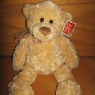 Gund  14 Inch Tan Teddy Bear Named Manni # 15015 NEW
