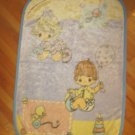 Crown Craft Precious Moments Plush Baby Blanket Girl Boy Heart Rattle Balloon Duckie Stack Rings