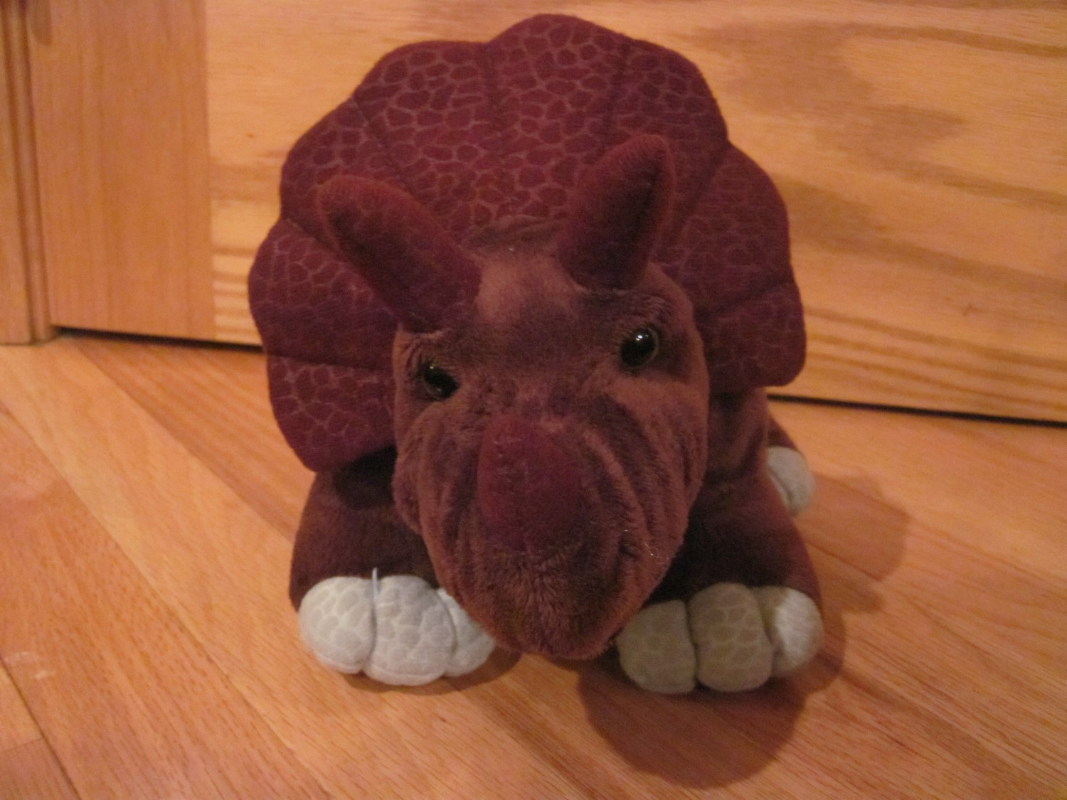 Kohls Cares For Kids 15 Quot Plush Maroon Burgundy Triceratops