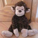 Ganz Plush Brown Beige Tan Cookie Cutters Monkey H11041 Swirl Fur