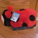 Dandee Walmart Lovable Huggable Plush Ladybug Pillow Pet Pal Fold up Toy