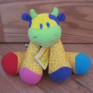 Lamaze Bright & Colorful Little Stars Musical Cow Tunes Developmental Toy Vanilla Scent
