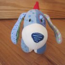 Baby Gund Small Snoodle Blue Cordoroy Puppy Dog 59063 Plush Toy Blue