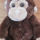 Koala Baby Plush Brown Tan Beige Monkey Rattle 1415233
