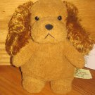 Targer Corporation Cuddle Zone Brown Plush Cocker Spaniel Puppy Dog Plush Bean Toy Fluffy Ears 76382