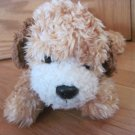 Gund Plush Brown Beige Tan Curly Puppy Dog Named Redmond 5362