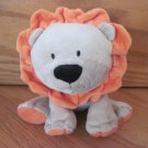 Carters Just One Year Tan Beige Plush Lion Orange Mane Feet 99328