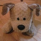 Gund Plush Brown Puppy Dog Red Collar Named Pupkins 5351