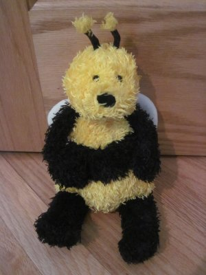 """Jellycat Bunglie Bee Plush Bumble Bee Doll Toy 12"""""""