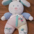 Carters Plush Pastel Waffle Thermal Bunny Rabbit Flowers Tulips Bunny Slippers 13021