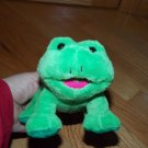 Best Made Toys Plush Green Frog Toy Pink Tongue
