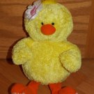 Amscan Plush Yellow Duck White Flower Plush Toy