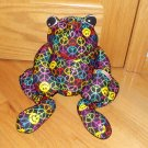 BeePosh Black Microbeed Woodstock Peace Frog Melissa & Doug  Pillow Toy