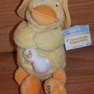 Kids II Bright Starts Inspirations Waddles Duck Singing Rubber Ducky Plush Toy 6103