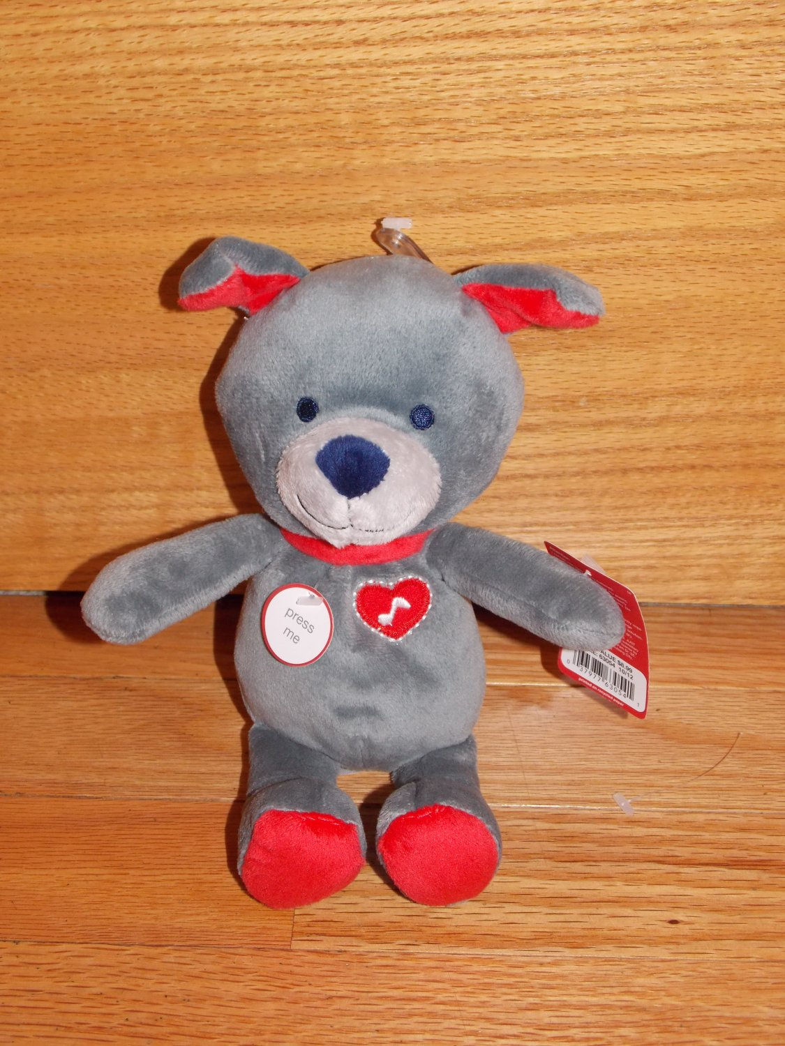 Dog Valentine Toys : Carter s just one you puppy dog talking i love plush
