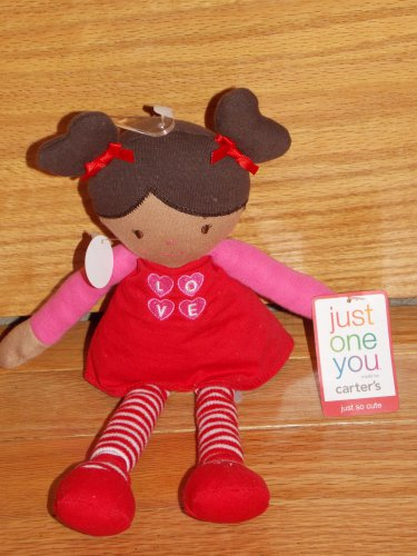 Just One You Red Pink Plush Valentine Talking Love Doll
