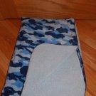 Koala Baby Blue Camoflage Baby Blanket Minky Sherpa 3748061K6