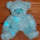 Cepia Color Kinetics Color Changing Plush Teddy Bear Blue Fur Light up Glow