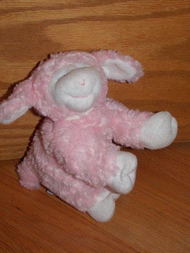Baby Gund  5  Inch Plush Pink Winky Lamb Sheep Rattle 58131