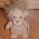 Tri Russ for Target Plush Brown Tan Bean Bag Lion Spikey Mane 70888