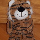 "Russ Berrie 10"" Pudgee Pals Plush Tiger Toy White Ears Mane39663"