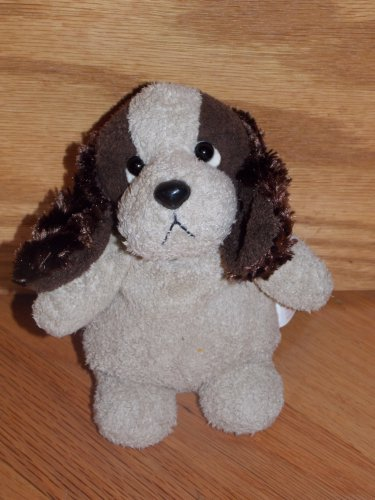 Target Plush Bean Sitting Puppy Dog Brown Ears Beagle Cocker Spaniel #79868