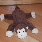 Gund Brown Plush Laying Monkey Named Chi Chi 31003