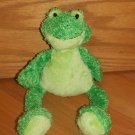 Princess Soft Toys 2009 Plush Green Frog 1650