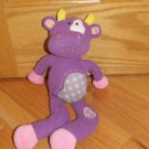 Aurora Baby Purple Clarisse Cow Bull Plush Stuffed Animal Toy Mischief Lolliez 14""